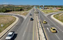 La Circunvalar de la Prosperidad es la vía de cuarta generación que conecta a los cuatro municipios del área metropolitana de Barranquilla.