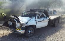 Cuatro muertos y siete heridos en accidente en La Guajira