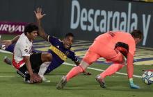 El superclásico argentino finalizó en un empate por 2-2.
