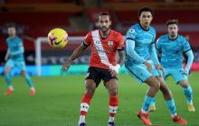 Southampton venció al Liverpool por 1-0.