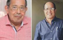 Plinio Urrueta Ayola y Oswaldo Escobar.