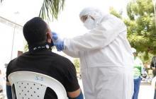En Galapa continúan jornadas de tomas de muestras Covid-19 barrio a barrio
