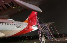 Globo que impactó contra un avión en Bogotá venía de Antioquia