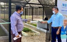 En marcha vivero bioclimático autosostenible en Sabanalarga