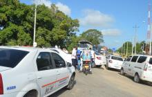 Taxistas se oponen al aumento de cupos en la ruta San Marcos-Sincelejo