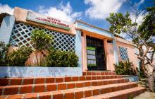 Fachada del Insituto Alexander Von Humboldt de la ciudad de Barranquilla.