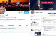 Bloqueo total a las redes sociales de Donald Trump