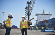 """""""Vamos a sacar adelante el puerto de aguas profundas"""": Pumarejo"""