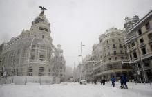 Cuatro muertos deja el temporal de nieve en España y colapsa Madrid