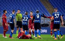 Roma e Inter no se sacan diferencia y hacen feliz al Milan