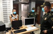 Robó dos computadores de un colegio en Malambo y la Policía lo capturó