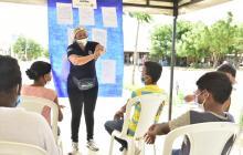 Se realizaron diversos talleres en Barranquilla para atender las necesidades de los niños y niñas.