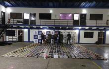 Decomisan 1,5 toneladas de cocaína en un barco en Cartagena