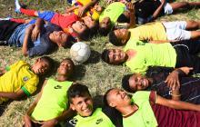 Los sueños de gol que hay en Santo Domingo