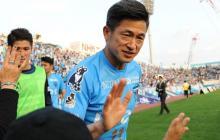 El delantero japonés Kazuyoshi Miura suela con jugar hasta los 60 años.