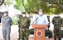 Mindefensa está hospitalizado en Barranquilla tras dar positivo para Covid