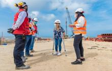 Obras del muelle de Puerto estarán listas en agosto