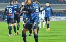 El atacante colombiano marcó el segundo gol del Atalanta.