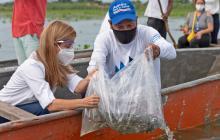 Tres mil pescadores se beneficiarán del repoblamiento de alevinos