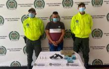 Cae presunto integrante de 'Los Costeños' con marihuana