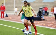Catalina Usme, delantera de la Selección Colombia.