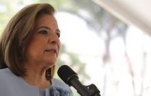 Margarita Cabello Blanco, la nueva procuradora General de la Nación, tomó posesión en Palacio.