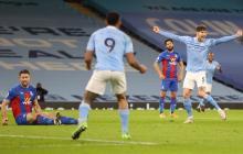 El Manchester City se sitúa a dos puntos del Manchester United.
