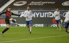 El serbio Luka Jovic se estrenó a lo grande con un doblete.