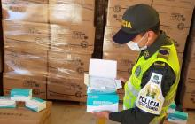 Incautan más de 600.000 tapabocas de contrabando en Cesar