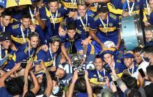 Boca Juniors derrotó a Banfield por penaltis y se coronó bicampeón