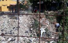 Arroyo El Platanal, basurero a cielo abierto en Soledad