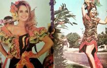 'Chechi' Donado, reina de 1996 y Clarissa Lafaurié, reina de 1971.