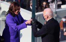 Cronología del día de la investidura de Joe Biden y Kamala Harris
