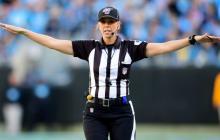Sarah Thomas, la primera mujer llamada a arbitrar en el Super Bowl