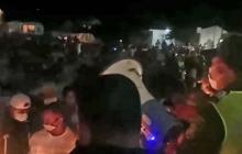 Reportan aglomeraciones durante una procesión en Lorica