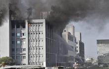 ¡Lo que faltaba! Se incendia fábrica de vacunas Covid