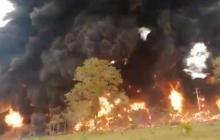 Fuerte explosión en el oleoducto Caño Limón Coveñas en Arauca