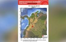 Temblor de 5.1 sacude el centro del país