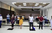 Gobernación entrega 60 becas a jóvenes con buen puntaje en las Prueba Saber