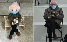 Un muñeco inspirado en Bernie Sanders recauda más de 40.000 dólares para ONG