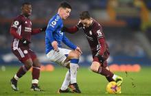 James marca, pero el Everton se conforma
