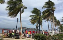 Alertan por fuertes brisas, altas olas e incendios forestales en Santa Marta