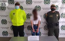 Niñera es capturada por abuso a menor de 13 años en Antioquia