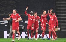 El Liverpool vence por 3-1 al Tottenham Hotspur.