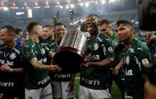 Palmeiras vence con gol en último minuto y conquista su segundo título