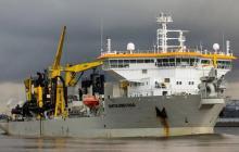 Bartolomeu Dias llega a Barranquilla para dragado del Puerto