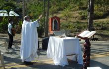 Con una misa recuerdan los 71 años del siniestro de Ovejas