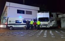 Incautan 130 kilos de cocaína en Valledupar