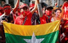 Birmania aparenta normalidad mientras surgen protestas tras el golpe