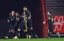 Reacción in extremis del Barcelona para pasar a semifinales en la prórroga